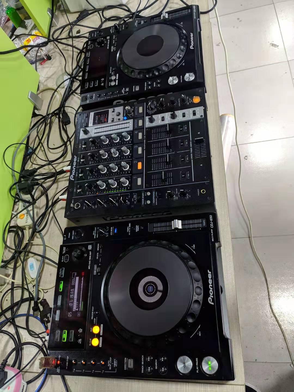 先锋CDJ850两台+DJM700